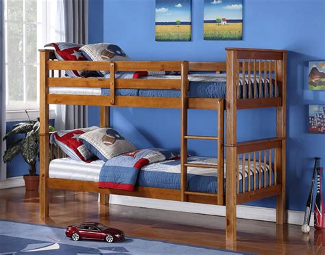 Living Home Bunk Bed Pine Bunk Beds Time Living
