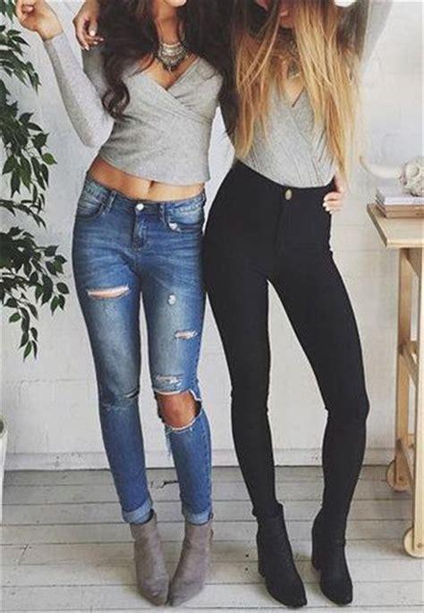 jean outfits on pinterest outfits con jeans rasgados 8 decoracion de interiores