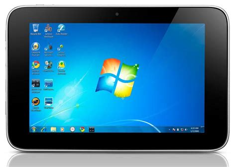 pc tablets with windows 7 lenovo ideapad p1 windows 7 tablet unveiled gadgetsin