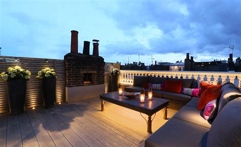 Your Next Roof Terrace Lighting Design John Cullen Lighting