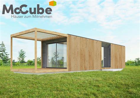 Haus Zum Mitnehmen by Mccube Ist Wohncomfort Und Flexibilit 228 T