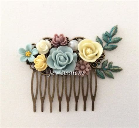 Wedding Hair Accessories Light wedding hair comb woodland bridal headpiece hair