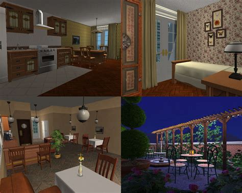 Complete House Plans Mod The Sims City Apartments Paris And New York Versions