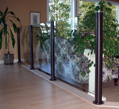 indoor banisters and railings deckview glass railing edmonton interior railings