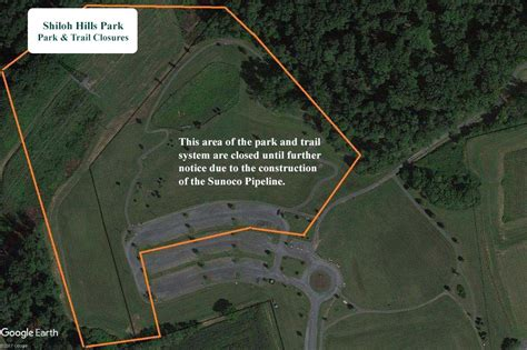 sunoco sinking spring pa shiloh hills park trail closure 187 township of spring