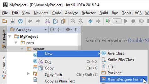 default layout manager for dialog class in java intellij idea plug in jformdesigner java swing gui
