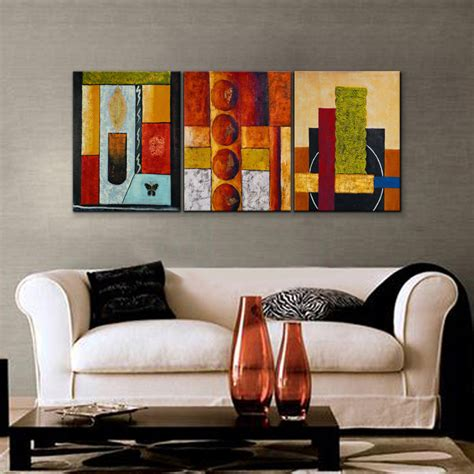 modern wall paintings living room sleeping 5 multicolored handed painting canvas
