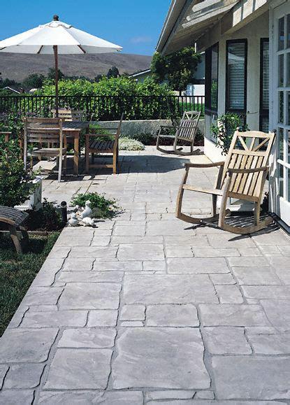 Stamped Concrete   English Yorkstone: Single Stone Tools