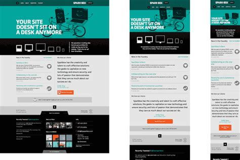 design site round up sites using responsive web design sparkbox