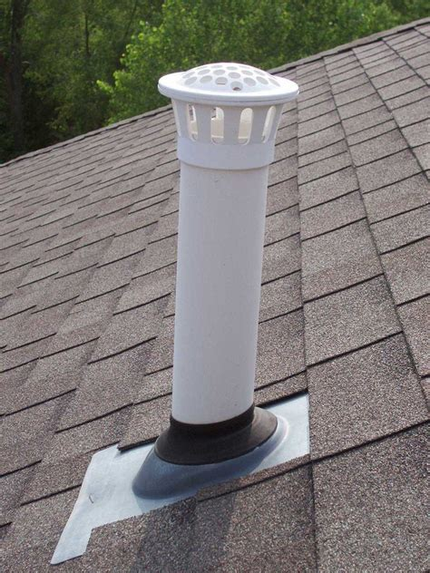 White For Plumbing by Vent Masters Store Vent Pipe Guard Black