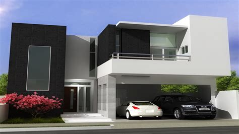 small flat roof house plans studio design gallery