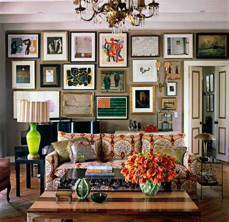 eclectic room patterned sofas eclectic living room kristen