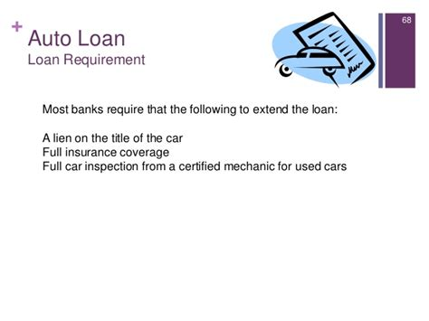 Letter Of Guarantee Auto Loan Introduction To Consumer Lending