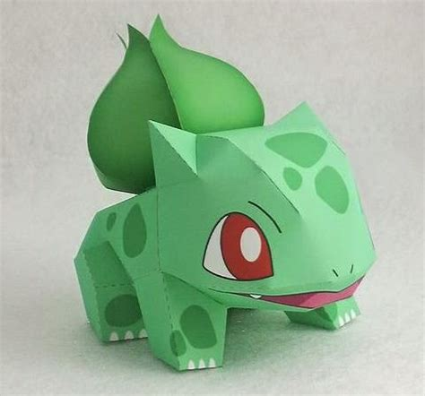 Toys With Paper - papermau bulbasaur paper by ten pepakura