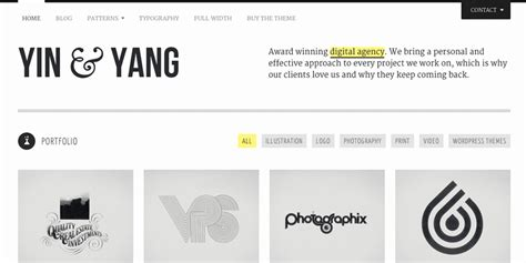 themeforest yin yang sites of the week 187