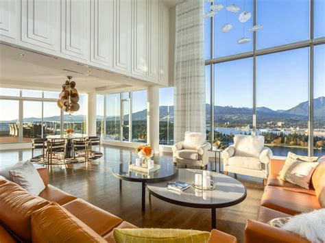 luxury penthouse this 58 million vancouver penthouse is canada s most
