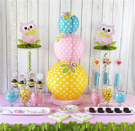 Ideas For A Baby Shower For A by Owl Baby Shower Ideas