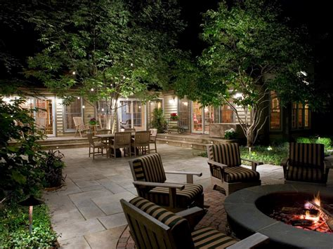 outdoor lighting outdoor lighting ideas with cool illumination settings