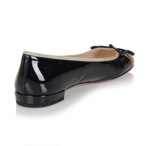 black flat womens shoes prada black brown patent leather flat shoes made in