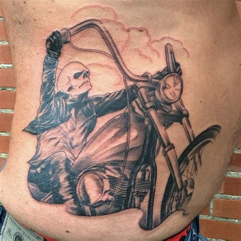 outlaw biker tattoos 85 best biker designs meanings for