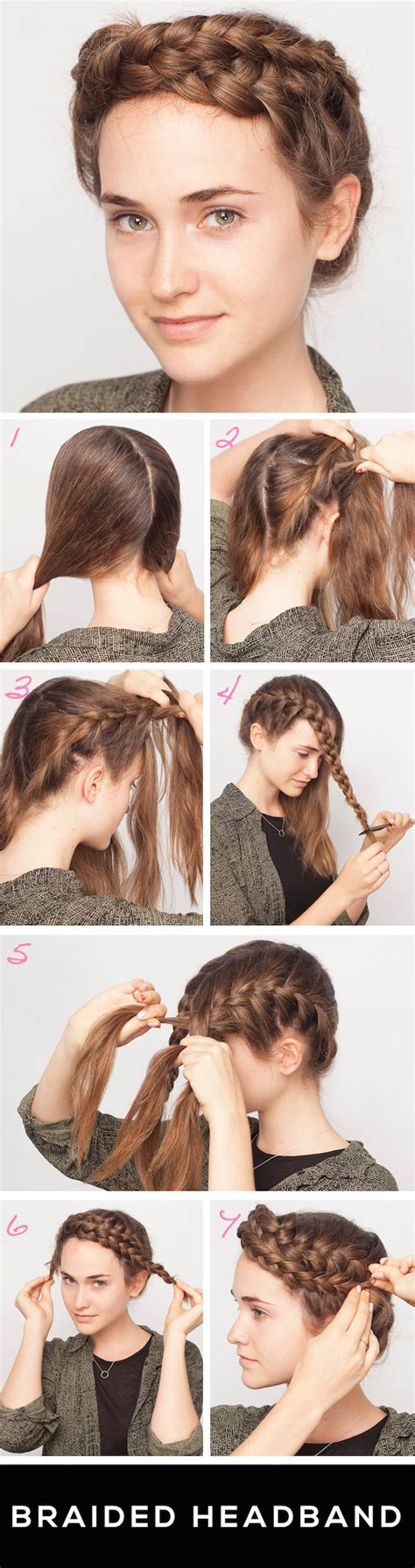 headband braid step by step braided headband learn to get this in just a few simple