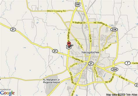 map of nacogdoches county texas map of econo lodge nacogdoches nacogdoches