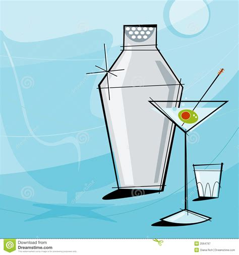 cocktail shaker vector retro vector royalty free stock photography
