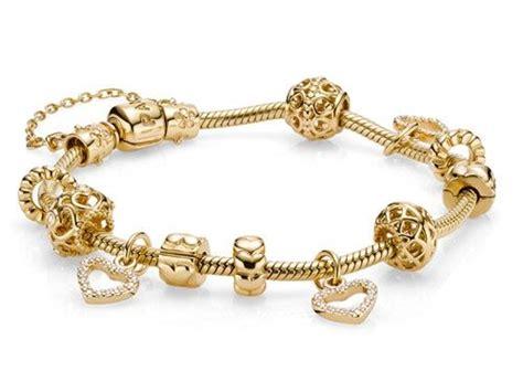 all gold pandora bracelet