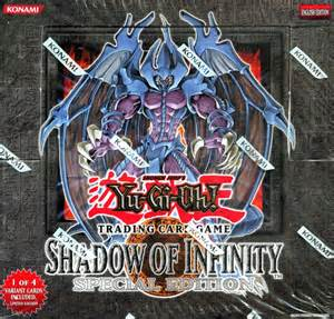 Shadow Of Infinity Deck Yu Gi Oh Shadow Of Infinity Special Edition Box
