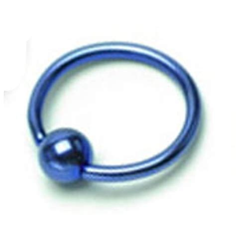 surgical steel captive bead rings pair of titanium anodized 316l surgical steel rings