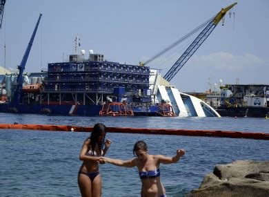 boat salvage perth italy cruise ship wreck to be raised in september