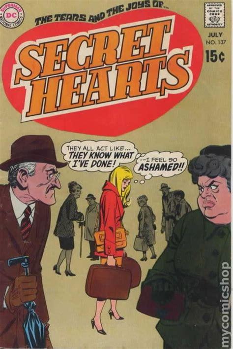 letters to boyfriend secret hearts 1949 comic books 1466