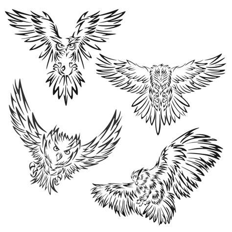 owl flying svg cuttable designs