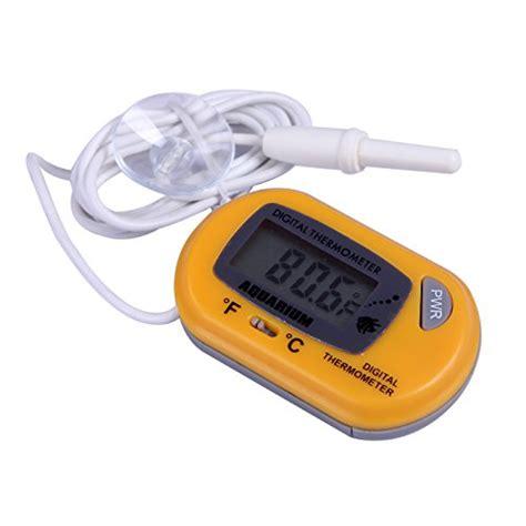 Termometer Akuarium Digital hde digital aquarium thermometer fish tank thermostat water temperature the aquarium