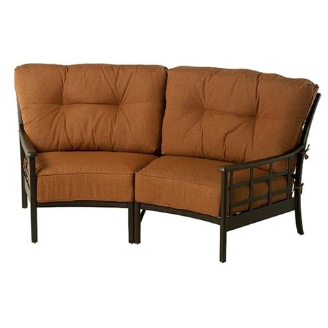 stratford estate seating crescent sectional by hanamint