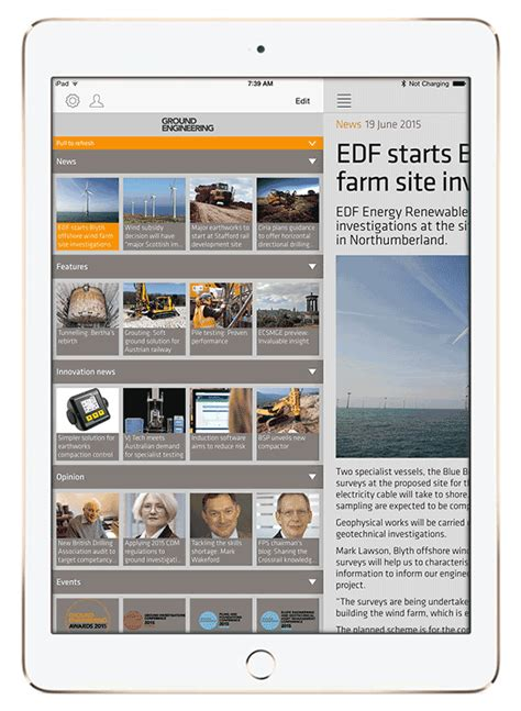 layout app buzzfeed emap releases updates for their b2b magazine news apps