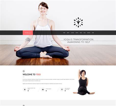 themes wordpress yoga yogi health beauty yoga wordpress theme nootheme