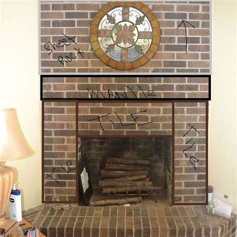 how to refinish a brick fireplace how to refinish a brick place hometalk