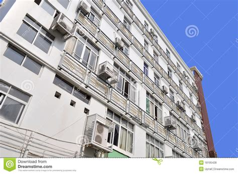 Air Appartments by Building Air Conditioning Royalty Free Stock Photos Image 18195428