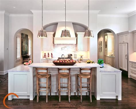 pendant lighting over island kitchen farmhouse with bar