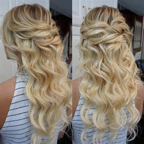 instagram homecoming hairstyles 31 half up half down prom hairstyles page 2 of 3 stayglam