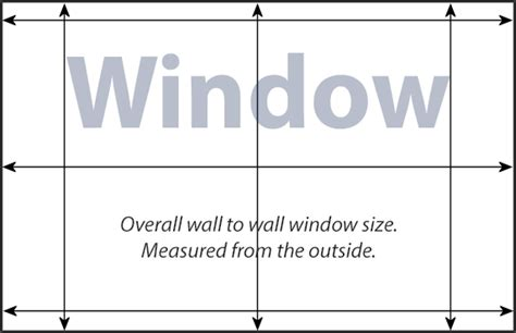 window measurement template images templates design ideas
