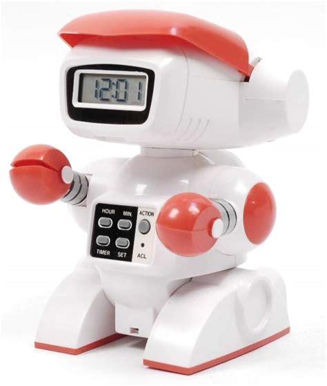 robot alarm clock by bandai 1985 the robots web site