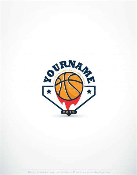design a basketball logo exclusive logo store basketball logo design