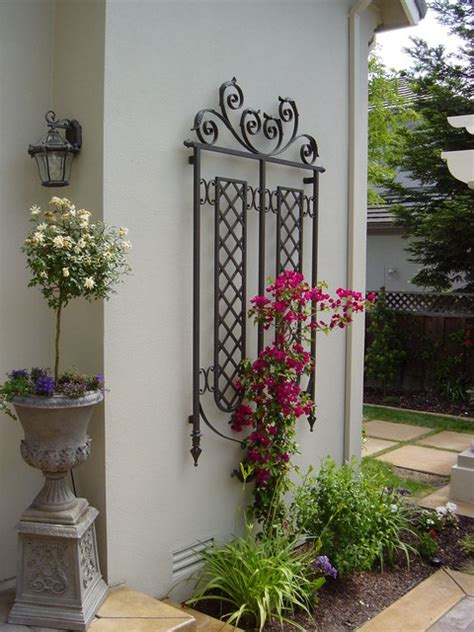 Decorative Wall Trellis Wall Trellis Traditional Exterior San Francisco By