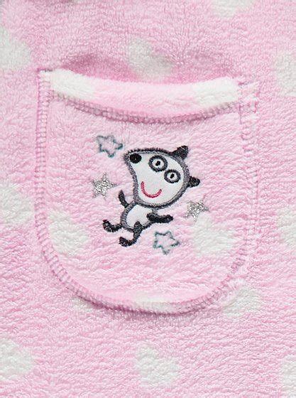 peppa pig dressing gown and slippers peppa pig pyjamas and dressing gown set george at