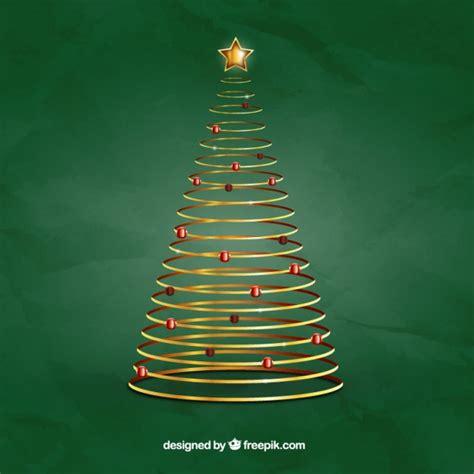 spirale weihnachtsbaum download der premium vektor