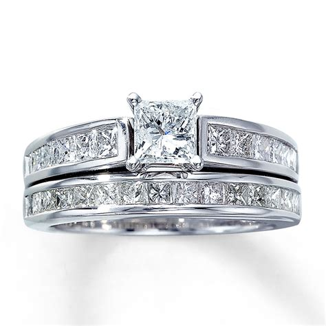princess cut wedding ring sets wedding and
