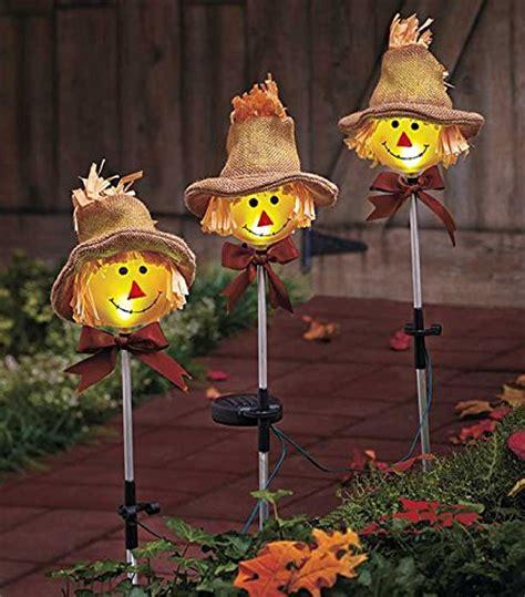 Scarecrow Garden Decor Scarecrow Decorations For Autumn Outnumbered 3 To 1