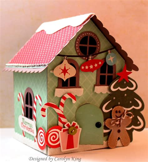 paper gingerbread house patterns search results
